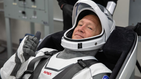 Shuttle Veteran Leads First Human Space Mission Launched From U.S. Since 2011
