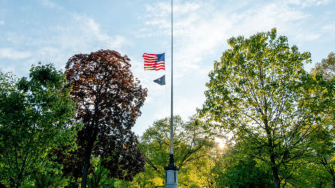 President Trump Orders Flags To Fly At Half-Staff As U.S. Mourns Nearly 100,000 Dead