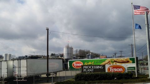 570 Workers Test Positive For Coronavirus At North Carolina Poultry Plant
