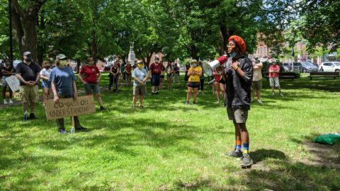 Crowd In Canton Joins Small New York Towns Protesting Racism, Police Brutality