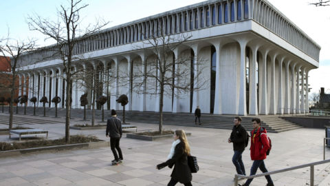 Princeton To Remove Woodrow Wilson's Name From Public Policy School