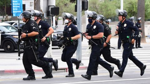 LA Police Reassigns 7 Officers As It Investigates Complaints Of Excessive Force