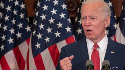 Biden Opposes Defunding Police, Campaign Says