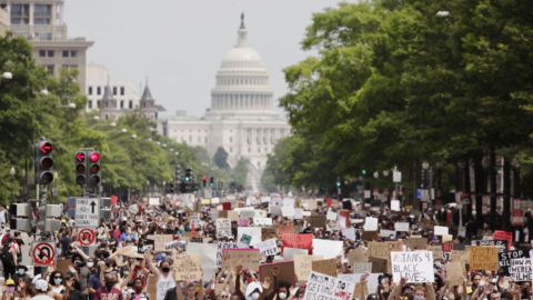 Photos: A Look At The Massive D.C. Protests Over Police Brutality