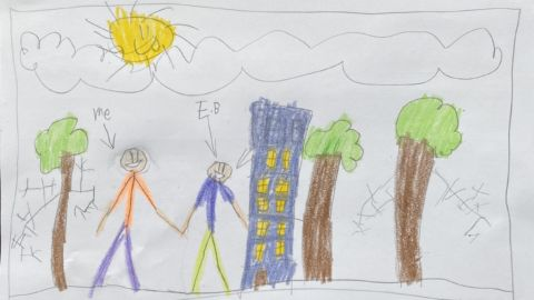 'Dear NPR': In Postcards From The Shutdown, Kids Show Us Life — And Learning