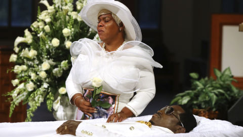 Rayshard Brooks' Funeral Held At Church Where Martin Luther King Jr. Preached