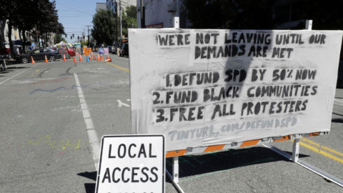 Seattle Police Will Return To Precinct In Protest Zone, Mayor Says
