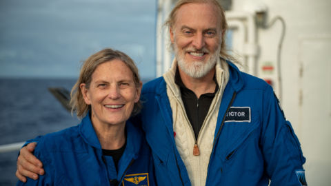 1st U.S. Woman To Walk In Space Dives To Deepest Point In The Ocean