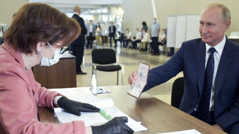 Referendum In Russia Passes, Allowing Putin To Remain President Until 2036