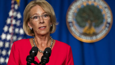 Education Department Announces It Won't Punish Colleges For Reconsidering Student Aid