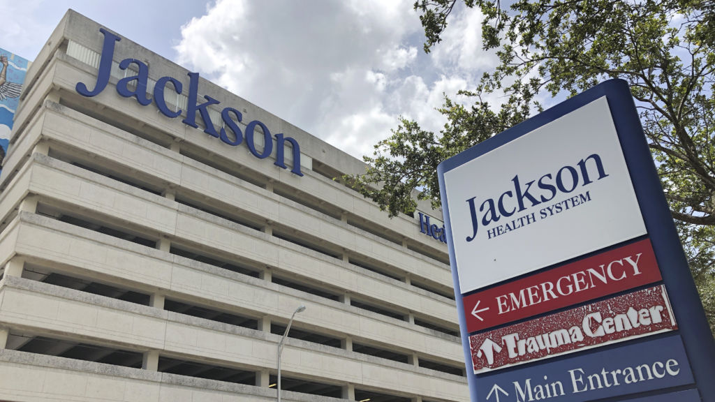 Florida has reported big jumps in hospitalizations for COVID-19. An ICU doctor at Jackson Memorial Hospital in Miami says he's seeing more young people than before.