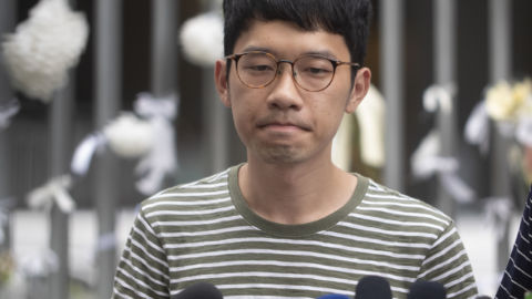 Hong Kong Activist Nathan Law Says He Has Fled Abroad Amid Beijing-Backed Crackdown