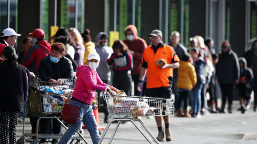 New Outbreak In New Zealand Leads To New Rules And Supermarket Runs