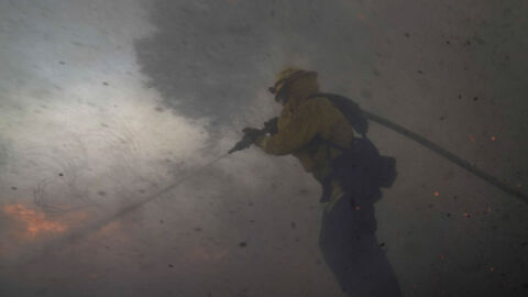 Orange County Fires: 2 Firefighters Critically Injured In Fast-Moving Blazes