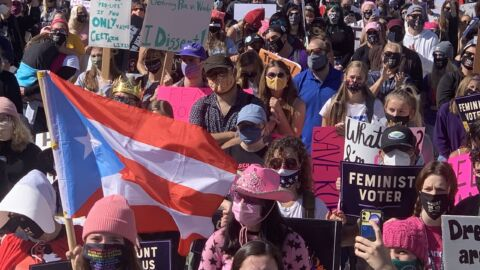 Women's Marches Bring Thousands To Washington, D.C., And Cities Nationwide