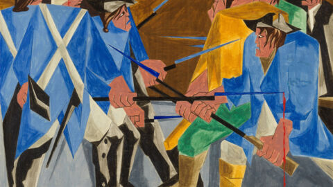 Lost Painting By Modernist Master Jacob Lawrence Found In Private Collection