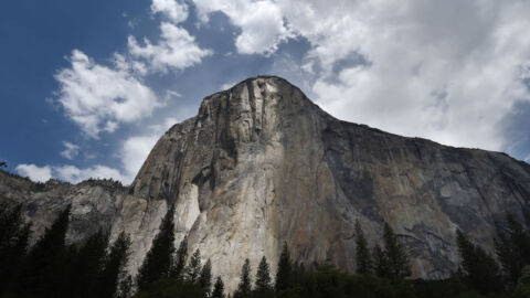 Emily Harrington Is 1st Woman To Free-Climb El Capitan's Golden Gate Route In 1 Day