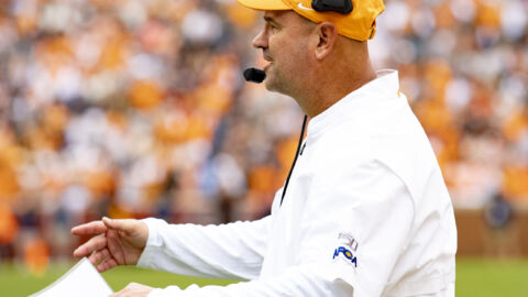 University Of Tennessee Fires Head Football Coach Over Alleged Recruitment Violations