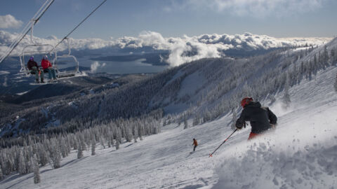 Ski Down and Mask Up — Resorts Try To Stay Safe In Pandemic Skiing Boom