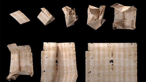 Reading A Letter That's Been Sealed For More Than 300 Years — Without Opening It