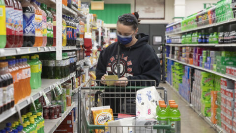 Shopping Without A Mask Depends On Where You Live, Despite New CDC Guidelines