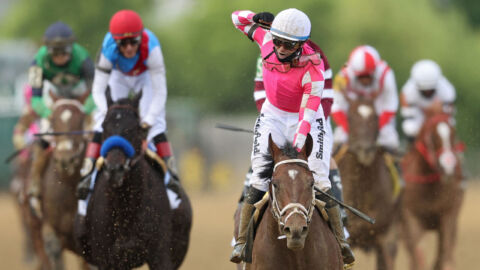 Rombauer Pulls Surprise Win At Preakness Stakes