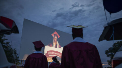 High School Graduations Brought Joy This Year, Even If They Weren't Back To Normal