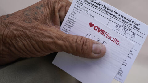 Fake COVID Vaccine Cards Are Being Sold Online. Using One Is A Crime