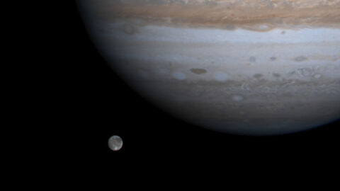 NASA Spacecraft Made A Flyby Visit To The Largest Moon In The Solar System