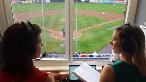 For The First Time, An All-Female Crew Will Broadcast A Major League Baseball Game
