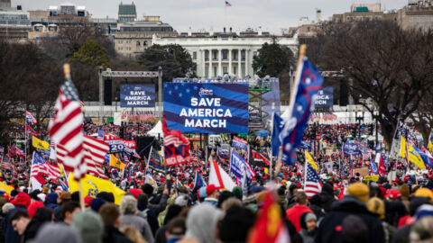 A Lawsuit Against Jan. 6 Rally Speakers Forces DOJ To Consider Who's Legally Immune