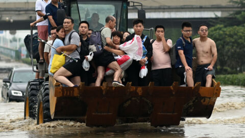 Record-Breaking Flooding In China Has Left Over One Million People Displaced
