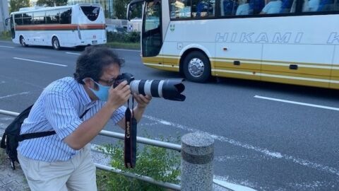 For Tokyo's Bus Spotters, The Olympics Really Are All About The Journey