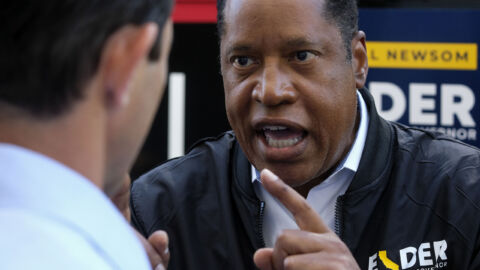 A Right-Wing Media Outfit Powers Larry Elder's Bid For California Governor