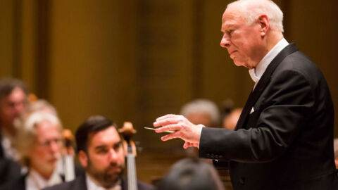 Renowned conductor Bernard Haitink, beloved for his modesty, has died at age 92