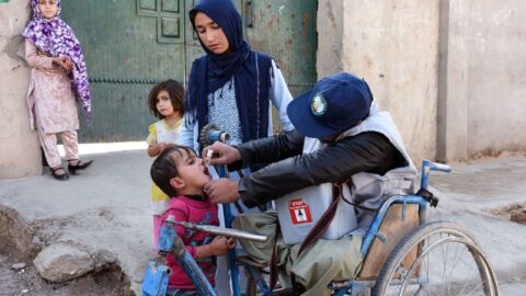 Taliban will allow a national polio vaccination campaign in Afghanistan, says WHO