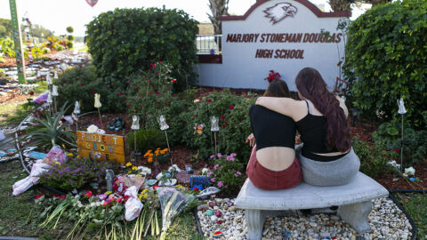 A Florida school district will pay $25 million to the families of Parkland victims
