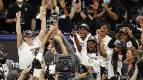Chicago brings home its first WNBA championship trophy