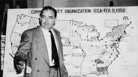 Decades before Trump's election lies, McCarthy's anti-communist fever gripped the GOP