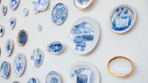 Julie Green, who painted plates with the last meals of death row inmates, has died