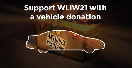 Support WLIW21 with a vehicle donation