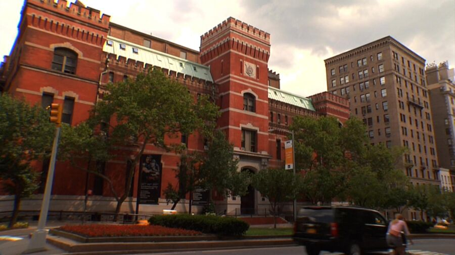 The exterior of the Park Avenue Armory