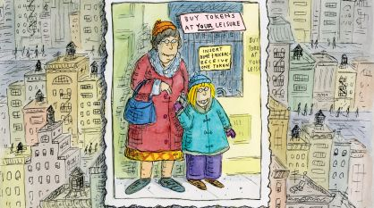 New York Advice from Cartoonist Roz Chast