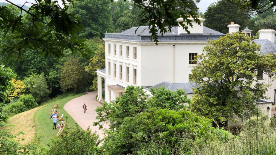 The Greenway Estate, former holiday home of writer Agatha Christie.