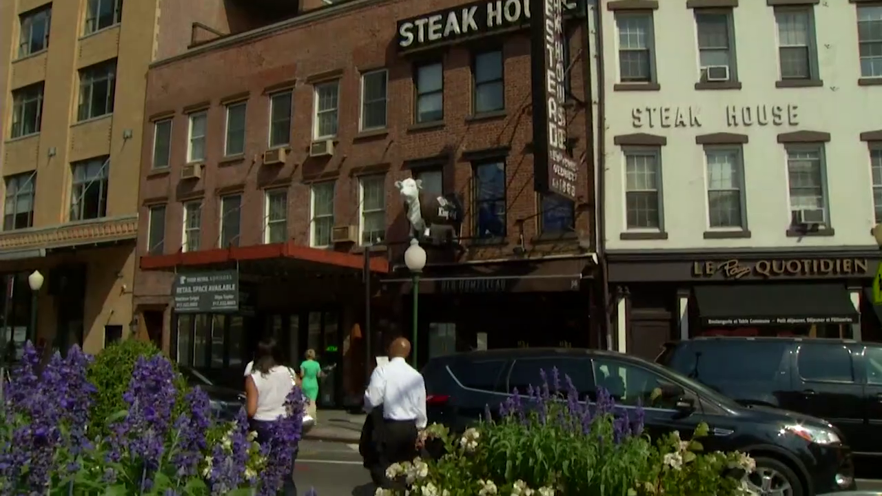 The Old Homestead Steak House in the Meatpacking District at 56 9th Avenue.