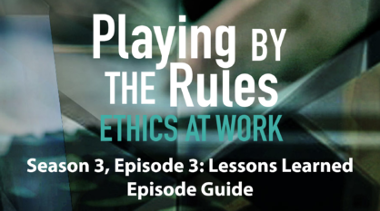 Season 3, Episode 3: Lessons Learned – Episode Guide